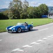 Am Memorial-Bergrennen 2018 in Steckborn jagen alle Arten von Oldtimern, Rennwagen, Motorrädern und auch Elektroautos den Hang zum Eichhölzli hinauf. (Bild: Reto Martin).