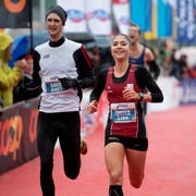 Überlegene Siegerin: Andrea Meier aus Uster. (Bild: Corinne Glanzmann, 28. Oktober 2018)