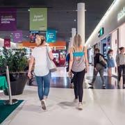 Die «Shopping Arena» in St.Gallen versteht sich nicht nur als Einkaufs-, sondern auch als Erlebnisort. Bild: Michel Canonica