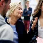Spitzenkandidatin Karen Umbach konnte den FDP-Nationalratssitz nicht halten (Bild: Stefan Kaiser, Zug, 20. Oktober 2019)