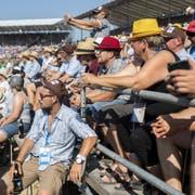 Besucher am Eidgenössischen Schwing- und Älplerfest in Zug. (Bild: KEYSTONE/Ennio Leanza, 24. August 2019)