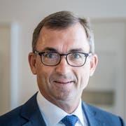 """Roland Ledergerber, CEO der St.Galler Kantonalbank, sagt: """"Die Stadt St.Gallen ist nicht overbanked."""" (Bild: Michel Canonica)"""