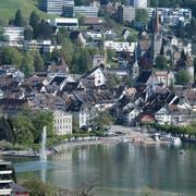 Zug Gartenstadt. Haus Häuser Stadt Zug Stadtansicht Stadt ZugZuger Zeitung/Stefan Kaiser