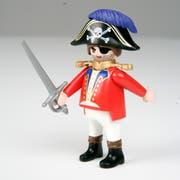 Ein Playmobil-Pirat. (Bild: Reto Martin)