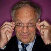Der abtretende Bundesrat Johann Schneider-Ammann, rund ein Jahr nach seinem Amtsantritt. (Bild: Martin Ruetschi/Keystone (Bern, 29. September 2011))