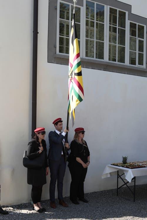 Der Studentenverein Rusana stattete einen Besuch ab. (Bild: Florian Arnold, 19. Juni 2019)