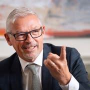 «Ich möchte einmal Schlangen vor unseren Kulturinstitutionen sehen»: Regierungsrat Martin Klöti. (Bild: Urs Bucher)