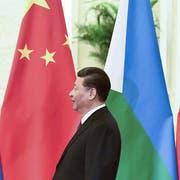 Gab sich bei seinem Seidenstrassen-Gipfel reumütig: Chinas Staatschef Xi Jinping. (Mark Schiefelbein/AP)