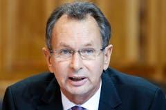 Der Aargauer FDP-Ständerat Philipp Müller und ehemalige Parteipräsident ist auch ein Parteikollege von Wicki. (KEYSTONE/Peter Klaunzer, Bern, 29. September 2016)