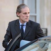 Der französische Botschafter in Rom: Christian Masset.Bild: Etienne Laurent/EPA (Paris, 25. September 2014)
