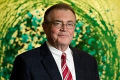 Alfred N. Schindler war bis 2017 Verwaltungsratspräsident der Schindler Aufzüge AG. Hans Wicki sitzt im Verwaltungsrat der AG. (Corinne Glanzmann, Hergiswil, 18. Dezember 2014)