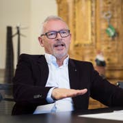 Regierungsrat Martin Klöti. (Bild: Ralph Ribi)