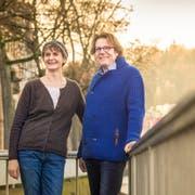 Sibylle Jean-Petit-Matile und Andreas Haas möchten dem Tod die Kälte nehmen. (Bild: Boris Bürgisser (Luzern, 16. Januar 2019))