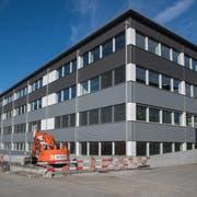 Das neue Innovation Center in Sachseln (Bild: Boris Bürgisser, Sachseln, 9. November 2018)