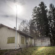 Die idyllische Lage am Waldrand ist ein Hindernis für die Umnutzung des Müllheimer Schützenhaus auf dem Guggenbühl. (Bild: Reto Martin)