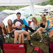 Chillfaktor 10 von 10: Das Relaxen auf dem Zeltplatz ist beim Open Air mindestens so wichtig wie das musikalische Programm. (Bild: Ralph Ribi)