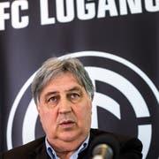 Angelo Renzetti ist seit acht Jahren Präsident des FC Lugano. (Bild: Gabriele Putzu/KEY)