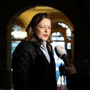 Heute Ständeratsanwärterin, vor neun Monaten Bundesratskandidatin: Heidi Z'graggen (CVP) hat am 20. Oktober keine Gegner. (Bild: Peter Klaunzer/Keystone, Bern, 4. Dezember 2018)