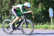 Robert Vuketic hat den ersten von fünf Ironmans erfolgreich bewältigt.