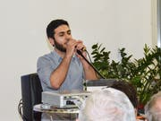 Rami Msallam spielt Musik aus seinem Album «Exodus».