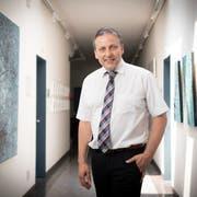 Goldachs Gemeindepräsident Dominik Gemperli wünscht sich Bürger, die lokal einkaufen. (Bild: Ralph Ribi)