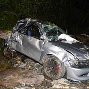 Der 21-Jährige starb noch auf der Unfallstelle. (Bild: PD)