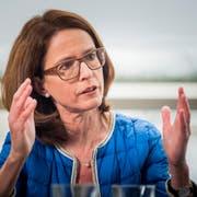 Die beiden Bestplatzierten des ersten Wahlganges: CVP-Kandidat Benedikt Würth und FDP-Bewerberin Susanne Vincenz-Stauffacher. (Bild: Michel Canonica)