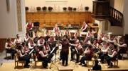 Die Musikgesellschaft Sulgen bot in der evangelischen Kirche ein Konzert mit vielen Höhepunkten. (Bild: Trudi Krieg)