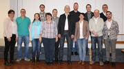 Die Kandidaten und Kandidatinnen für den Gemeinderat und die Schulkommission. (Bild: Trudi Krieg)