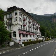 So sieht das Hotel Lützelau heute aus. (Bild: Niels Jost, Weggis 25. Mai 2019)
