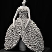Zurzeit arbeitet Ludolini an dreidimensionalen Porzellanfiguren.