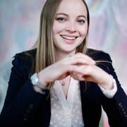 Laura Dittli (CVP) kandidiert für den Nationalrat. (Bild: Stefan Kaiser, Zug, 2. Mai 2019)