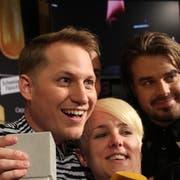 Hecht-Sänger Stefan Buck an den Swiss Music Awards. (Bild: Lara Abderhalden)