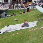 Freie Plätze an Hängen - das habe es früher kaum gegeben, sagt Festivalgründer Freddy Geiger. (Bild: Hanspeter Schiess)
