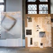 Installation von Achim Schröteler. (Bild: Manuela Jans-Koch (1. November 2018))