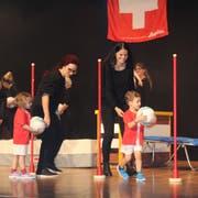 Die Nachwuchskicker des TSV Engelburg. (Bild: Manuela Bruhin)