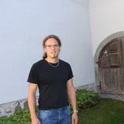 Kandidat Markus Kuhn an seinem Wohnort in Steckborn. (Bild: Judith Meyer)