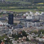 Im schnell wachsenden Kanton Zug zählt auch die Zuwanderung zu den grossen politischen Herausforderungen. (Bild: Stefan Kaiser, Zug, 10. Mai 2019)