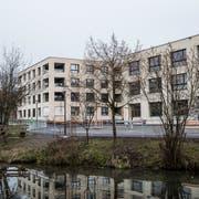 Das Anfang Februar 2019 eröffnete Pflegezentrum Riedbach in Adligenswil. (Bild: Manuela Jans-Koch, Adligenswil, 2. Februar 2019)