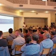 Über 80 Stimmberechtigte folgten der Einladung zur HV. (Bild: Marco Enzler)