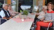 Vor allem bei schönem Wetter ist das Café Centrum bei Bewohnern und Gästen beliebt. (Bild: Jessica Nigg)