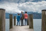 Die Gemeinde Weggis hat im Kanton Luzern den höchsten Anteil an Senioren. (Bild: Pius Amrein, 24. Mair 2016)