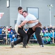 Bereits am 5. Mai in Frauenfeld trafen Armon Orlik und Domenic Schneider im Schlussgang aufeinander. (Bild: Andrea Stalder)