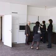 Der prozentuale Anteil leer stehender Wohnungen am Gesamtwohnungsbestand liegt in der Stadt St.Gallen bei 2,5 Prozent. Im ganzen Kanton ist der Anteil bei 2,2 Prozent, schweizweit bei 1,7 Prozent. (Bild: KEYSTONE/Martin Ruetschi)