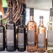 Alkoholische Getränke am diesjährigen Frauenfelder Winzerfest. (Bild: Andrea Stalder, 10.August 2019)