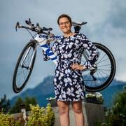 Einst Fussball, nun Triathlon: Sport hat in Anne-Sophie Morands Agenda einen fixen Platz. (Bild: Philipp Schmidli, Kriens, 10. Juni 2019)