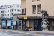 Die alte Postfiliale im Gemeindehaus von Adligenswil ist bald Vergangenheit: im Oktober verlegt die Post ihren Standort in den Migros-Partner. (Bild: Roger Gruetter, Adligenswil, 18. Februar 2018)