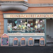 Die Bäckerei Arnold schloss im Februar, genauer am Schmudo. (Bild: Boris Bürgisser, Luzern, 8. Februar 2019)