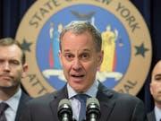 Ehemaliger State Attorney General von New York, Eric Schneiderman. (Bild: John Minchillo/AP, 25. Juni 2014)