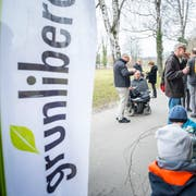 Die Grünliberalen sind sich bei der AHV-Steuer-Vorlage nicht einig. Im Bild: Die GLP Thurgau feiert ihr Zehn-Jahr-Jubiläum. (Bild: Andrea Stalder (Frauenfeld, 13.1.2018))